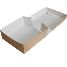 Коробка (260 x 260 x 90), крафт, подарочная