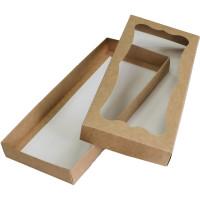 Коробка (280 x 120 x 30), крафт, подарочная