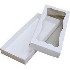 Коробка (280 х 120 х 30), белая, для пряников