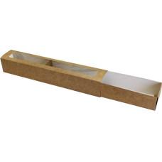 Коробка (290 x 50 x 45), крафт, подарочная