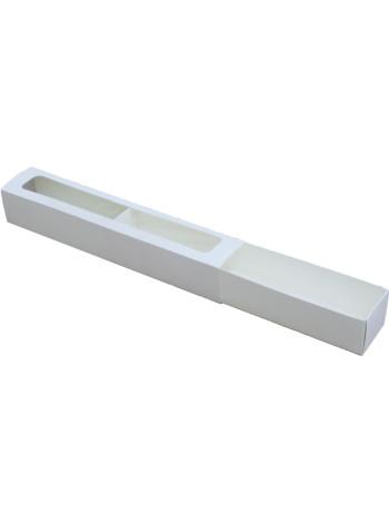 Коробка (290 x 50 x 45), белая, подарочная