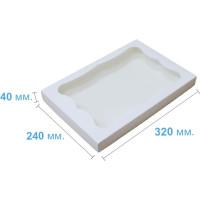 Коробка (320 х 240 х 40), белая, для пряников