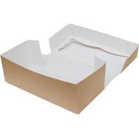 Коробка (330 x 150 x 110), крафт, подарочная