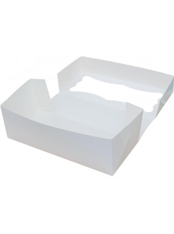 Коробка (330 x 150 x 110), белая, подарочная