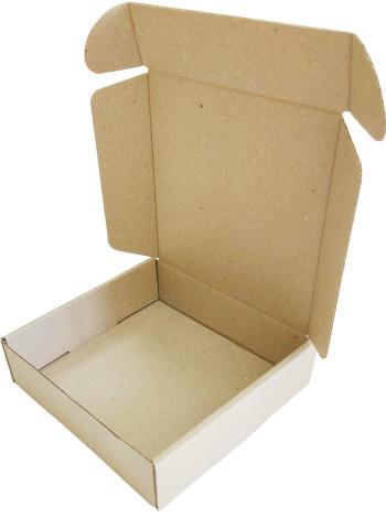 Коробка (145 x 145 x 40), бурая