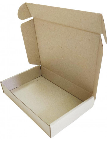 Коробка (190 x 130 x 35), бурая