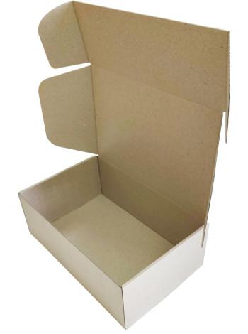Коробка (280 x 180 x 100), бурая