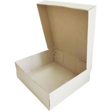 Коробка (350 х 350 х 130), для полусапог, бурая