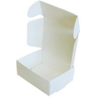 Коробка (050 x 40 x 20), белая, подарочная
