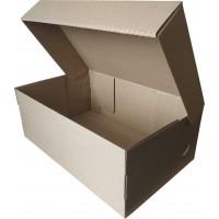 Коробка (320 х 200 х 120), для мужских туфель, бурая