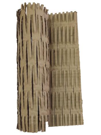 Перфорированный гофрокартон  (300 мм х 300 мм, Т22С, бурый)