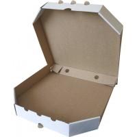 Коробка (250 х 250 х 37), для пиццы, белая