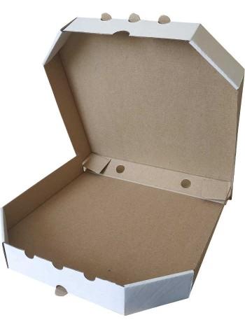 Коробка (320 х 320 х 37), для пиццы, белая