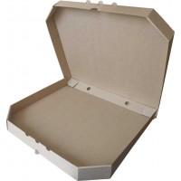 Коробка (320 х 320 х 37), для пиццы, бурая
