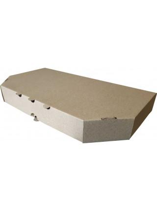 Коробка (330 х 170 х 40), для хачапури, бурая
