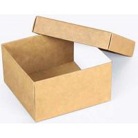 Коробка (090 х 90 х 50), подарочная, крафт