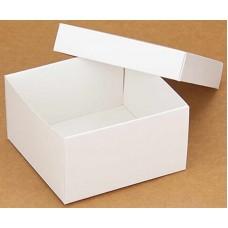 Коробка (090 х 90 х 50), подарочная, белая