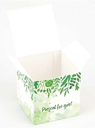 Коробка (055 х 55 х 55), подарочная, Present for you