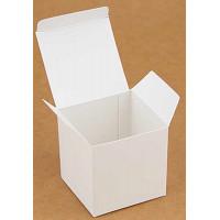 Коробка (055 х 55 х 55), подарочная, белая