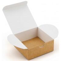 Коробка (070 х 70 х 30), подарочная, крафт