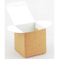 Коробка (100 х 100 х 100), подарочная, крафт