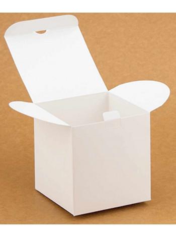 Коробка (100 х 100 х 100), подарочная, белая