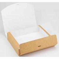 Коробка (250 х 200 х 50), подарочная, крафт