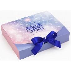 Коробка (250 х 200 х 50), подарочная, Merry Christmas