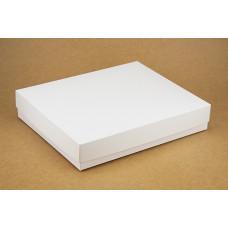 Коробка (280 х 230 х 50), подарочная, белая