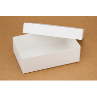 Коробка (140 х 85 х 45), подарочная, белая