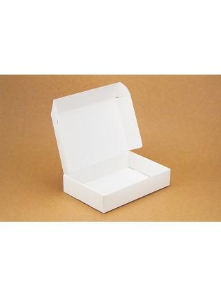 Коробка (240 х 160 х 50), подарочная, белая