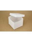 Коробка (150 х 150 х 130), подарочная, белая