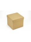 Коробка (150 х 150 х 130), подарочная, крафт