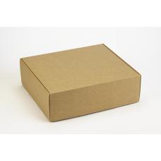 Коробка (290 х 250 х 90), подарочная, крафт