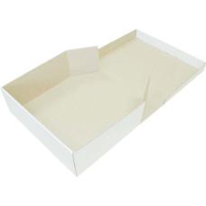 Коробка (300 х 300 х 110), белая, для пряников