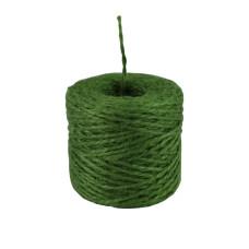 Шпагат джутовый зеленый, 45 метров/бобина