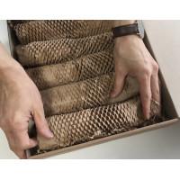 Упаковочная сотовая крафт-бумага  (50 м. х 280 мм., 72 гр./м2)