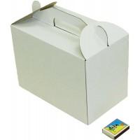 Коробка (245 х 145 х 175), белая, для тортов