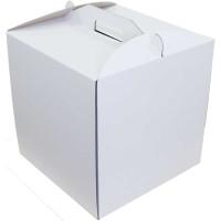 Коробка (350 х 350 х 350), белая, для тортов