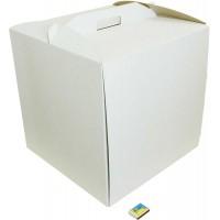 Коробка (450 х 450 х 450), белая, для тортов