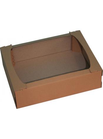 Лоток картонный 390 х 290 х 110